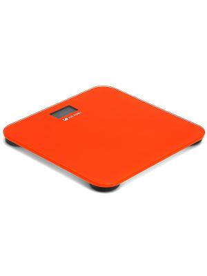 Весы напольные КТ-804-5 оранжевые Kitfort. Цвет: оранжевый