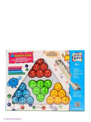 Конструктор для пространственного моделирования Kribly Boo. Цвет: голубой, красный, желтый, зеленый