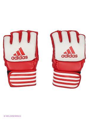 Перчатки для смешанных единоборств Competition Training Adidas. Цвет: красный, белый