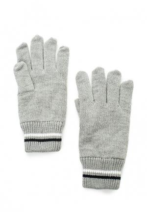 Перчатки MeZaGuz. Цвет: серый