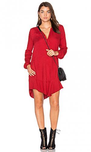 Мини платье olgita Velvet by Graham & Spencer. Цвет: красный