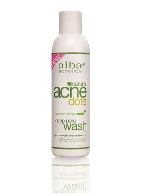 Средство для очищения жирной и проблемной кожи, 177мл Alba Botanica. Цвет: прозрачный