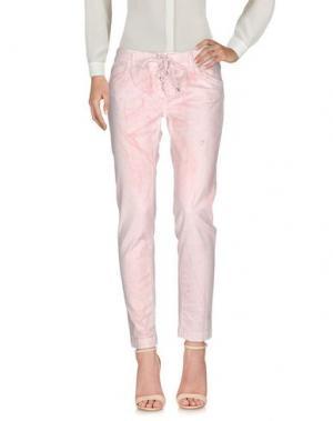 Повседневные брюки RA-RE. Цвет: розовый