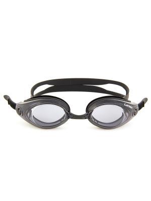 Очки плавательные R42 Larsen. Цвет: черный