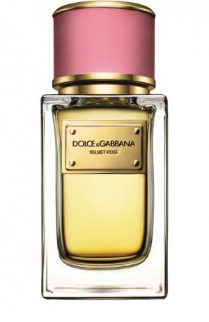 Парфюмерная вода Velvet Collection Rose Dolce & Gabbana. Цвет: бесцветный