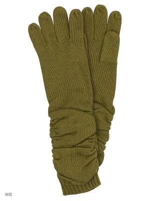 Перчатки Pur. Цвет: хаки