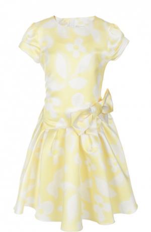 Платье I Pinco Pallino. Цвет: желтый