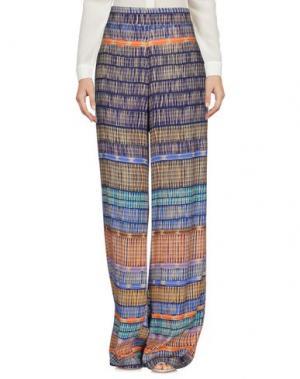 Повседневные брюки MYF. Цвет: синий