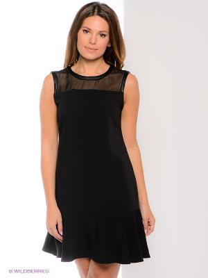 Платье Oltre. Цвет: черный