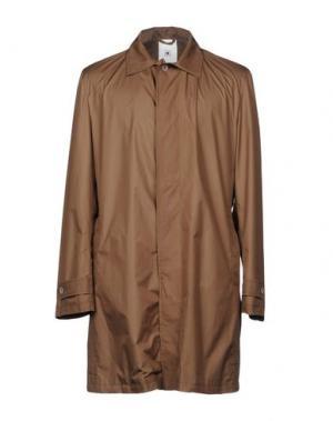 Легкое пальто KIRED. Цвет: темно-коричневый