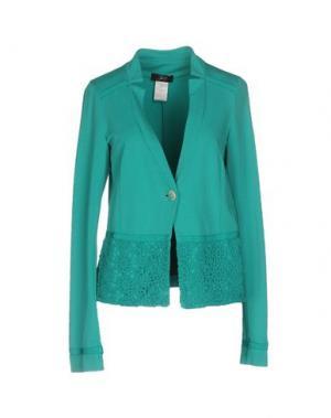 Пиджак JEI O'. Цвет: изумрудно-зеленый