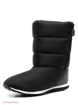 Дутики SESNOWFUN W Adidas. Цвет: черный