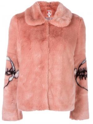 Куртка Junior Shrimps. Цвет: розовый и фиолетовый