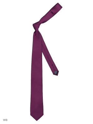 Галстук J Ploenes. Цвет: фиолетовый