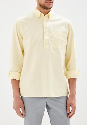 Рубашка Mango Man. Цвет: желтый