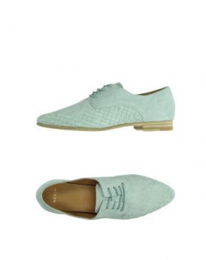 Обувь на шнурках AERIN. Цвет: небесно-голубой