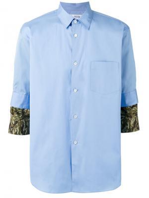 Camouflage detail shirt Comme Des Garçons. Цвет: синий