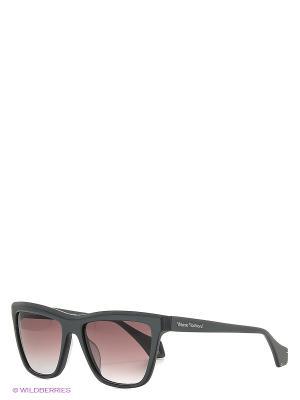 Солнцезащитные очки VW 872S 03 Vivienne Westwood. Цвет: серый