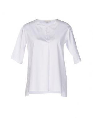 Блузка ANTONELLI. Цвет: белый