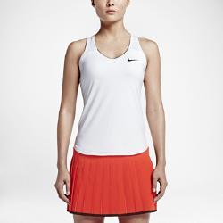 Женский теннисный топ Court Team Pure Nike. Цвет: белый