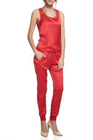 Костюм: блуза и брюки Nothing but Love. Цвет: красный
