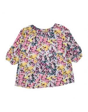 Блузка BEETLEJUICE. Цвет: светло-серый