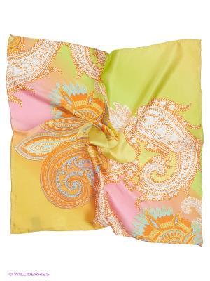 Платок Venera. Цвет: светло-оранжевый, розовый, желтый, салатовый