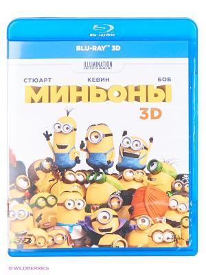 Миньоны (3D) (Blu-ray) НД плэй. Цвет: белый, желтый