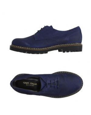 Обувь на шнурках GRIFF ITALIA. Цвет: темно-синий