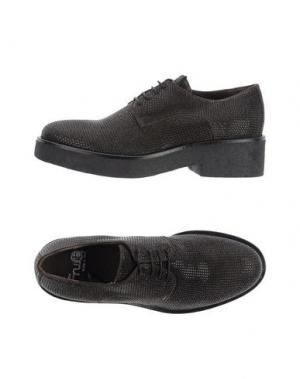 Обувь на шнурках FRU.IT. Цвет: темно-коричневый