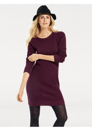 Трикотажное платье B.C. BEST CONNECTIONS by Heine. Цвет: бежевый, бордовый, серый меланжевый, чернильный, черный