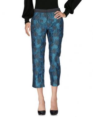 Повседневные брюки E-GÓ. Цвет: цвет морской волны