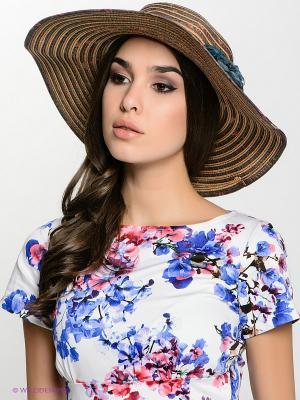 Шляпа FOMAS. Цвет: бежевый, темно-серый
