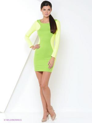 Платье Lussotico. Цвет: зеленый