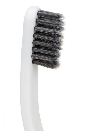 Зубная щетка с мягкой щетиной «Монотех» Yumaki. Цвет: белый