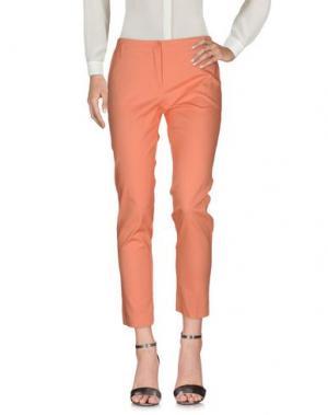 Повседневные брюки MARCELLO SANGIORGI. Цвет: абрикосовый