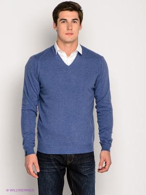 Пуловер Bramante. Цвет: синий