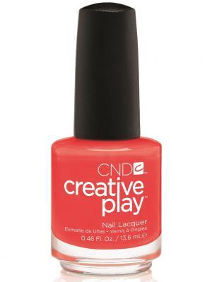 Лак для ногтей CND 91623 Creative Play # 499 (Tangerine Rush) 13,6 мл. Цвет: оранжевый