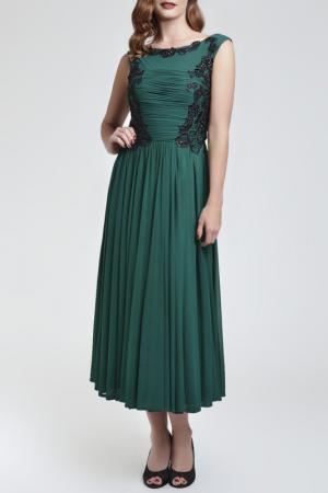Платье Dynasty. Цвет: зеленый