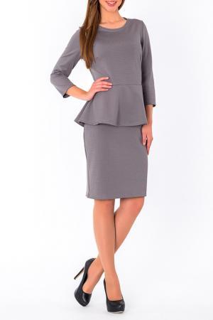 Платье S&A style. Цвет: серый