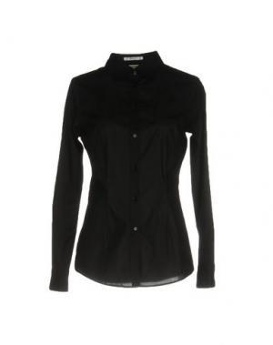 Pубашка JEANS & POLO. Цвет: черный