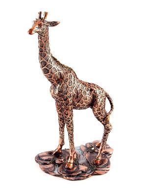 Статуэтка Жираф Русские подарки. Цвет: бронзовый