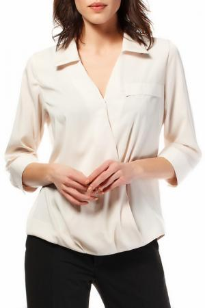 Блуза BeWear. Цвет: бежевый