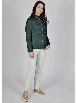 Куртка Frauland. Цвет: темно-зеленый