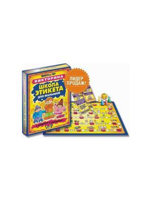 Тop Game. Настольная игра Школа этикета. TopGame. Цвет: желтый, оранжевый, синий
