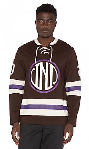 Хоккейная рубашка из джерси enforcer Undefeated. Цвет: коричневый