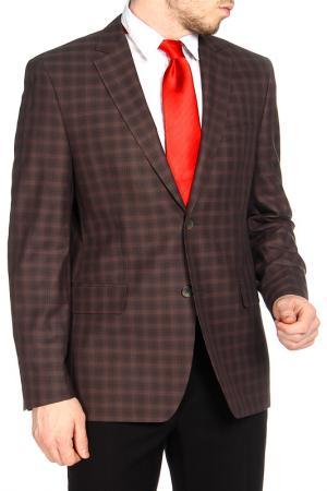 Пиджак КОМИНТЕРН. Цвет: коричневый