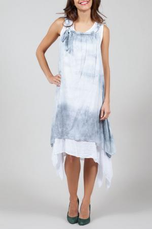Платье La Belle Helene. Цвет: серый