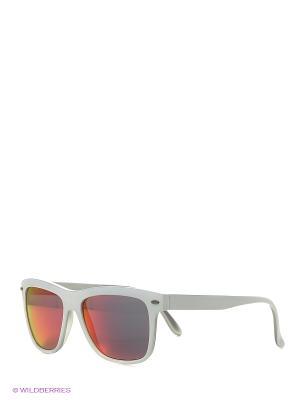 Солнцезащитные очки TOUCH. Цвет: белый