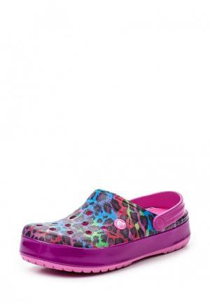 Сабо Crocs. Цвет: разноцветный
